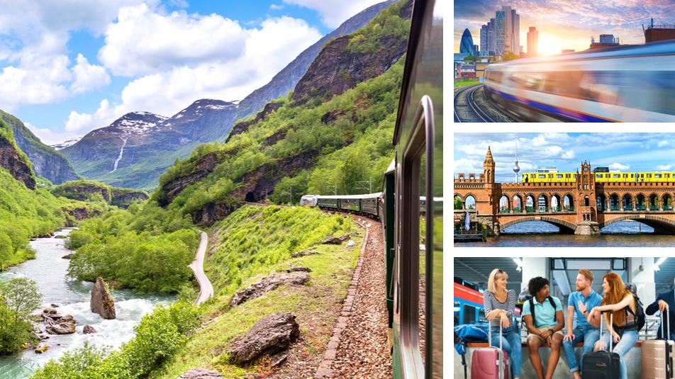 Reizen per trein maakt het gemakkelijk om twee bestemmingen te bezoeken tijdens uw incentive- of groepsreis.