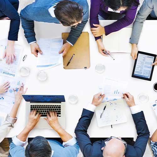 Meetings-vergadering