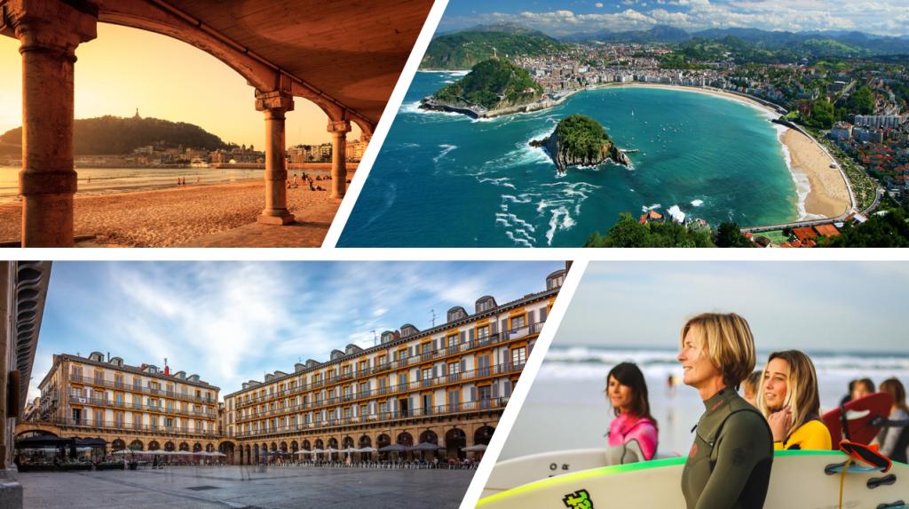 Geniet tijdens jullie incentive reis naar Noord-Spanje van deze adembenedemde kustplaats: San Sebastian.