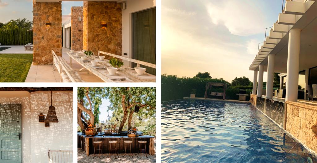 Kies eens voor een overnachting in een villa tijdens uw groeps- of incentive reis naar Ibiza.